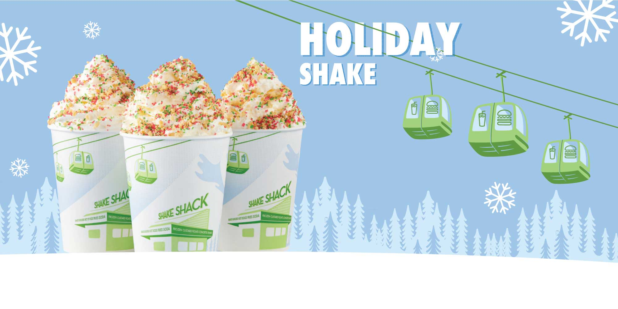 Christmas Cookie Shake, Shake Shack